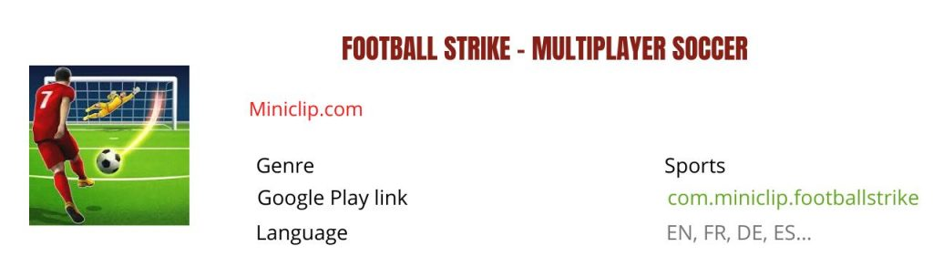 football strike mod apk