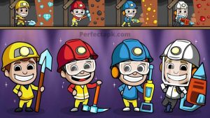 Idle Miner Tycoon Mod Apk v3.35.0 [Unlimited Money] for android 2