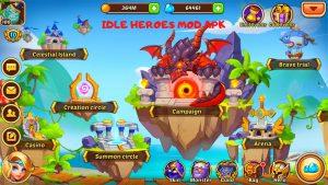 Idle Heroes Mod Apk v1.23.0 – [Unlimited Gold/Gems] 2