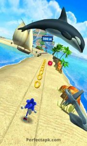 Sonic Dash Mod Apk v4.25.0 [Unlimited Money/ Rings] free download 3