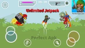 Mini Militia Mod Apk v5.3.5 [100% Unlimited Money/Ammo] for free 2
