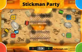 Stickman Party Mod Apk v2.0.3 (Unlimited Money) free download 2