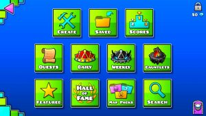 Geometry Dash Mod Apk 2.112 (100% Unlimited Money) free download 1