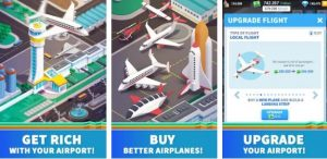 Idle Airport Tycoon Mod Apk v1.4.3 (Unlimited Money) Tourism Empire 2